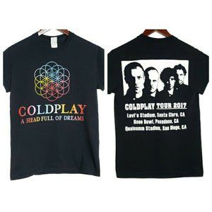 Coldplay  A Head Full of Dreams Tour 2017 Tshirt